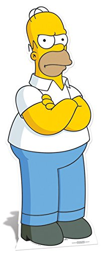 Star Cutouts Cut Out of Homer - Life Simpson Homer
