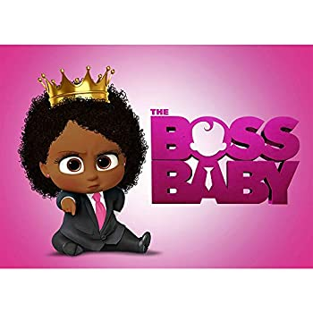 Amazon Com Eric 5x7ft Black Boss Baby Girl Party