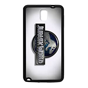 High Quality Custom Design Jurassic Park Black Phone Case for Samsung Galaxy Note3