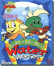 Brand New Humongous Entertainment Freddi Fish And Luther's Water Worries Smelly Spraying Octopi