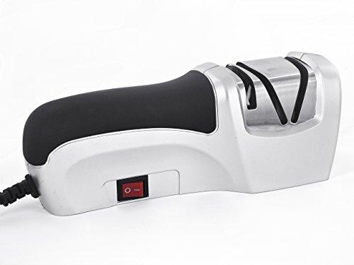 Hochleistungsfähiger elektrischer Messerschärfer - 2 Abschnitte Chrom und Silver