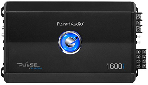 Planet Audio PL1600.4 Amplificador Class A/B, 1600 W, 4 canales, 2 Ohm