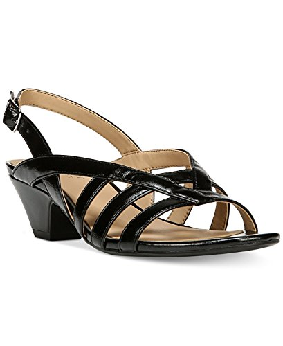 Naturalizer - Sandalias de vestir para mujer Black smooth
