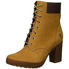 Timberland Women's Camdale 6in Boot Fashion, Wheat Nubuck, 9 M US