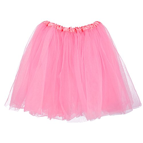 My Lello Big Girls Tutu 3-Layer Ballerina (4T-10yr) Bubblegum Pink