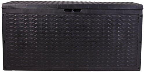 Vanage Aufbewahrunsgboxen Auflagen / Kissen / Aufbewahrungsbox CARGO, circa 120 x 45 x 60 cm, anthrazit