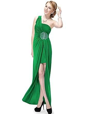 HE09542GR06, Green, 4US, Ever Pretty Christmas Dresses For Juniors 09542