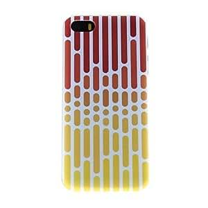 CL - Puntos y líneas modelo PC caso duro para el iPhone 5/5S