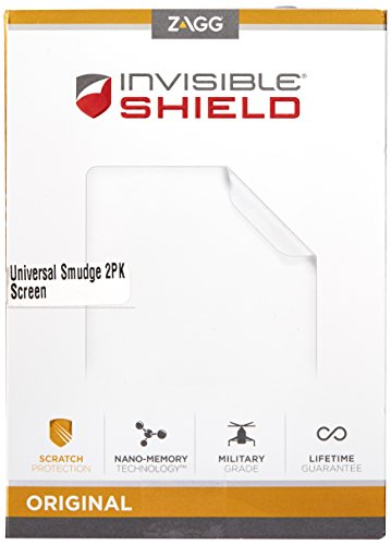 ZAGG InvisibleShield Original Smudge-Proof Universal Screen Protector