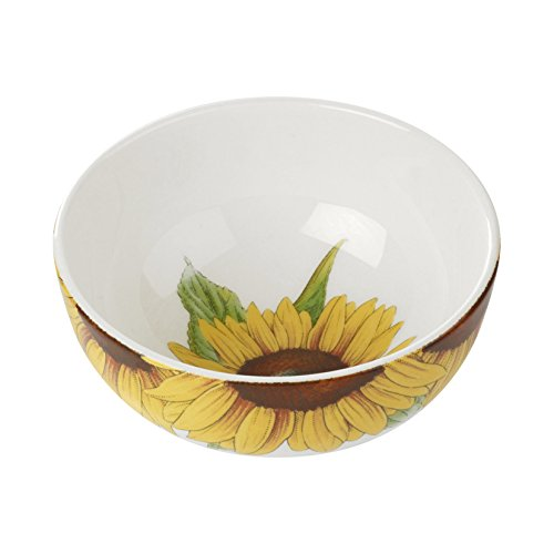 Portmeirion Botanic Blooms Sunflower Bowl (Set of 4)