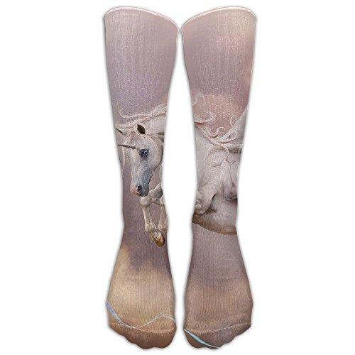 Pegasus Unicorn Unisex Classic Crew Winter Socks For Women Compression Socks