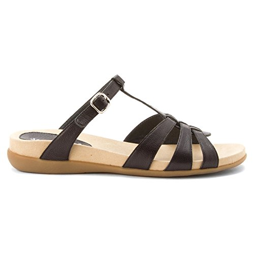 David Tate Womens Squeeze Sandal Black l02ljKML