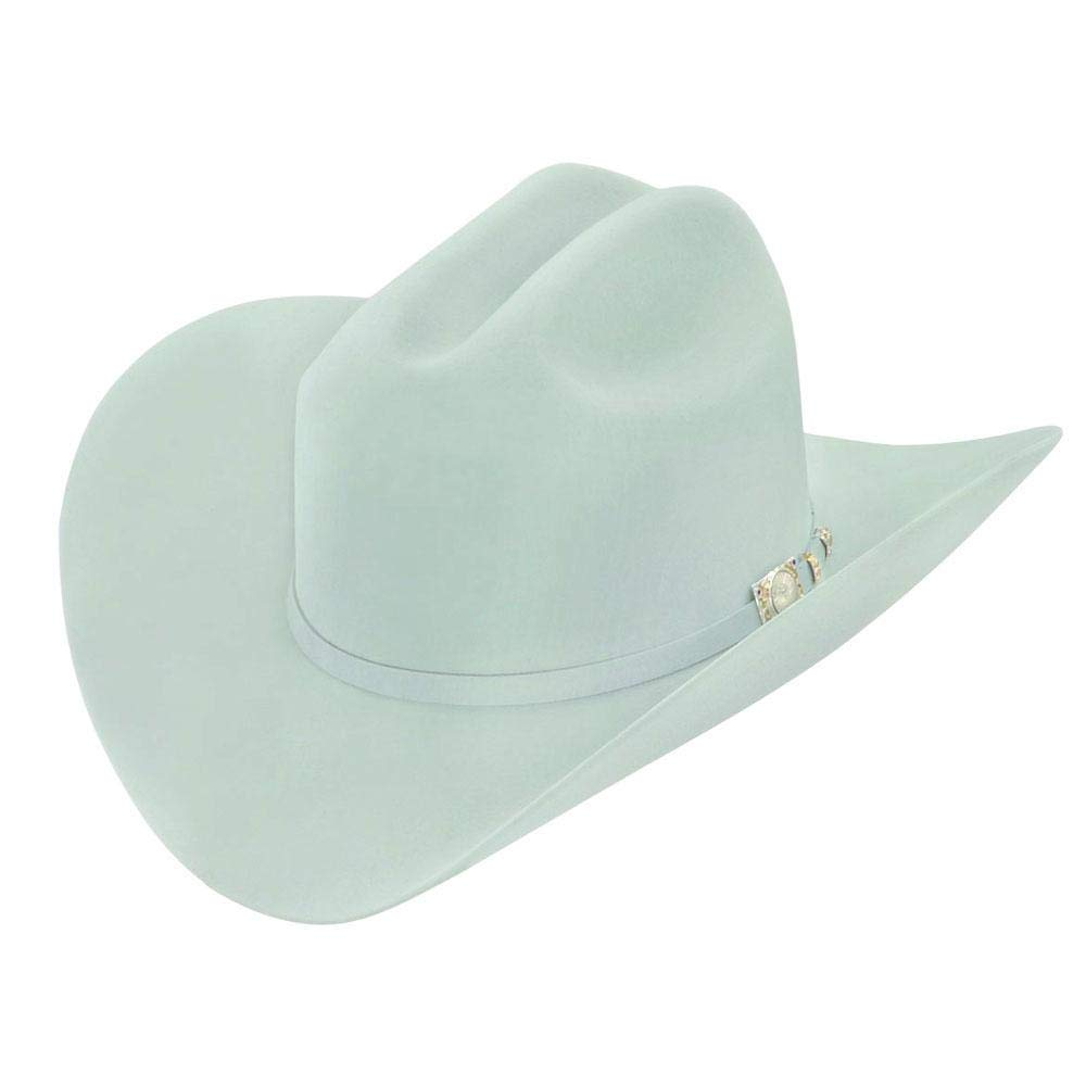 c1b18680f4 RRango Hats 100X El Supremo Beaver Felt Western Hat Color Platinum at  Amazon Men s Clothing store