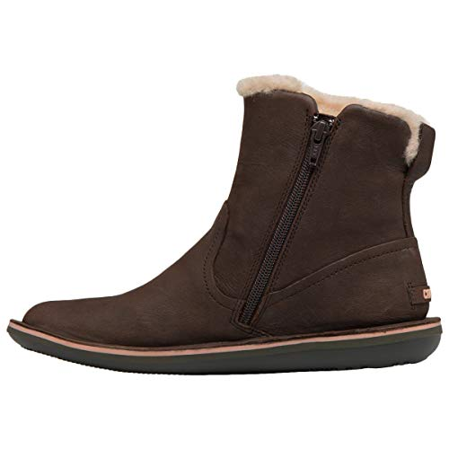 Brown Shoes Ankle Camper Womens Dark Boots Beetle K400292 xXTqF0U