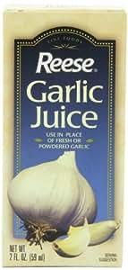 Reese Garlic Juice, 2-Ounce Bottles (Pack of 12)