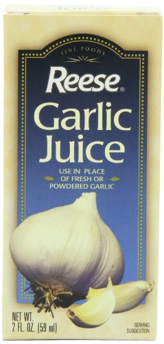 Reese Garlic Juice, 2-Ounce Bottles (Pack of 12)