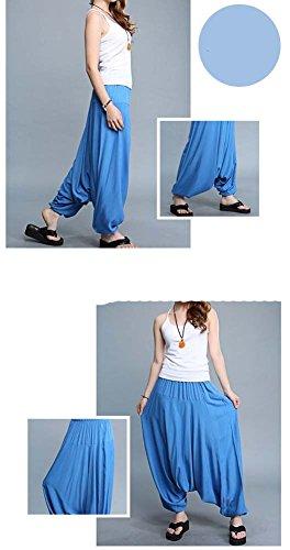 Breathable Travel Home Loose Pants Sagging Pants Yoga Pants Sunscreen by Panda Superstore (Image #1)