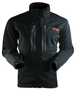 Sitka Gear Men's Softshell Jacket, Black, Large