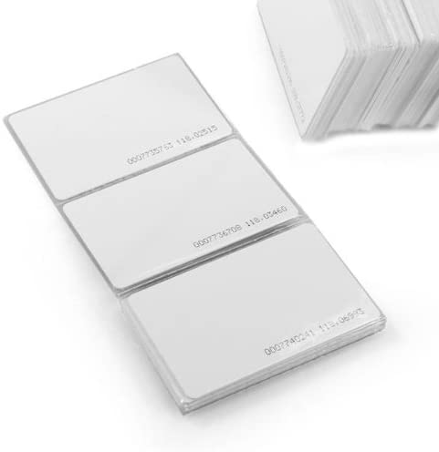 200pcs 125Khz RFID Proximity Cards ID Card Door Entry Access 0.8mm