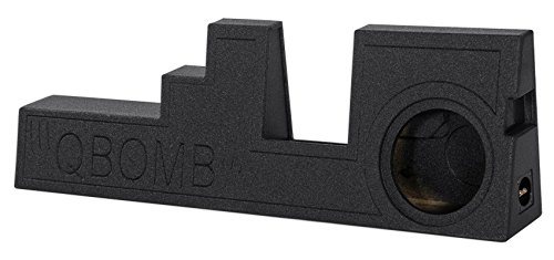 Q Power QBFORD09F350110 Single 10'' Vented Subwoofer Enclosure for 2000-2016 Ford F-250/F-350/F-450 Super Duty Trucks by Rockville (Image #1)