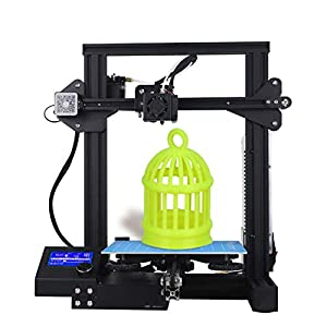 Creality 3d printer new version,with all metal frame & resume printing all metal frame fdm dc-01 diy printers(build plate 220×220×250mm)