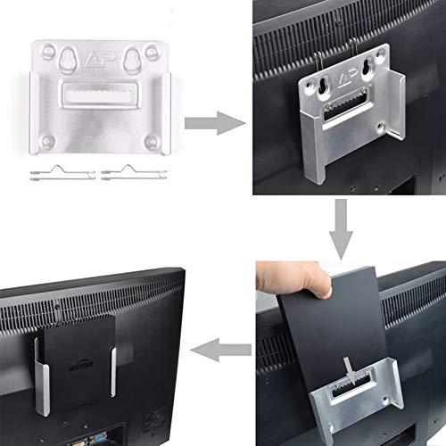 AgoHike ユニバーサルアルミニウム合金液晶ディスプレイ LED TV 壁マウント PC モニター TV ホルダー ブラケット   B07MZK71NM