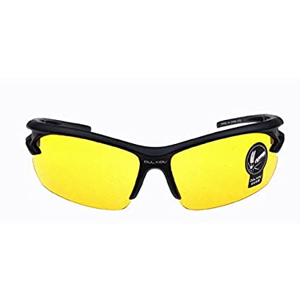 e6a6b7924c HD Vision Night   Tactical Glasses UV400 HD Night Vision Glasses    Lightweight Tactical Eyewear Shooting Safety Glasses