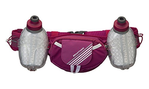Nathan Trail Mix Plus Insulated Hydration Belt, Vivacious, One ()