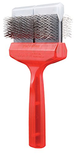 ActiVet Mat Zapper Red German Grooming Brush 9.0 cm