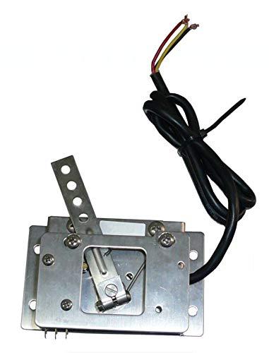FidgetFidget Curits Style Throttle Curtis PB-6 0-5K Ohms 2-Wire Golf Cart Potentiometer sz by FidgetFidget