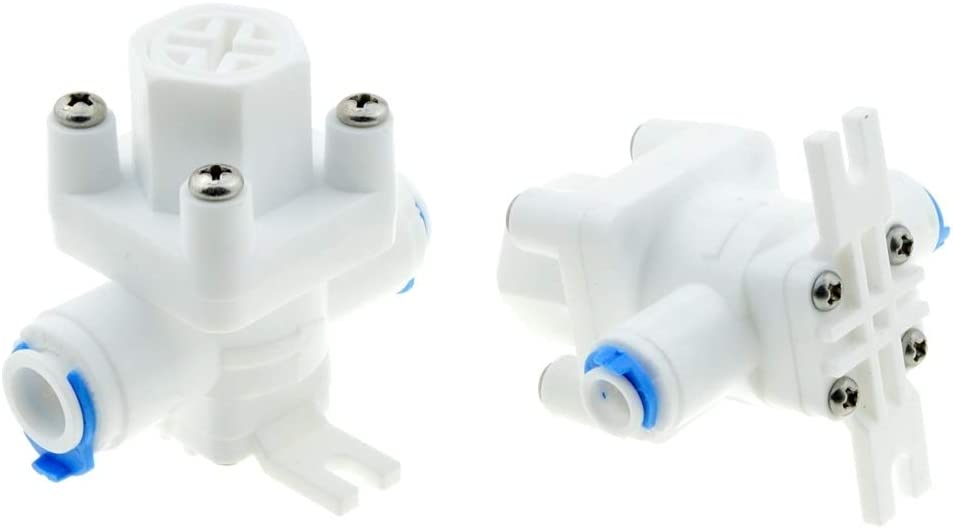 no logo WSF-Adapters Size : 1//4 1pc RO Water Pressure Relief Valve Water Pressure Reducing Regulator 1//4 3//8 OD Hose Quick Connection RO Reverse Osmosis System
