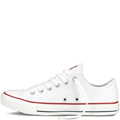 Converse Unisex Chuck Taylor All Star Ox Low Top Classic Optical White Sneakers - 6.5 B(M) US Women / 4.5 D(M) US Men by Converse (Image #1)