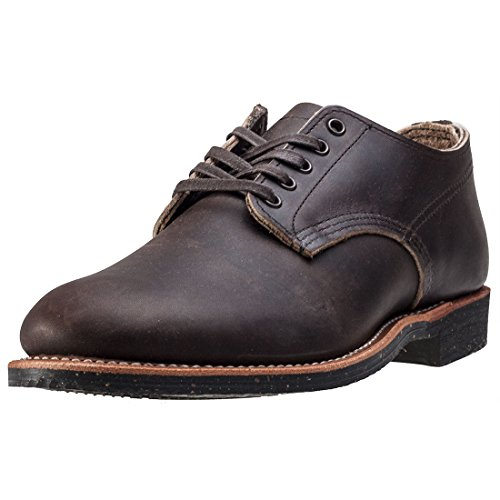 Red Wing Mens Merchant Oxford 8044 Leather Shoes Ebony Leather