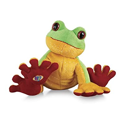 "Ganz Lil'Kinz Tree Frog 6.5"" Plush: Toys & Games"