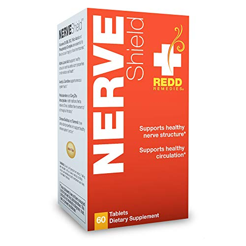 Redd Remedies – Nerve Shield, Nerve Support for a Healthy Myelin Sheath and Nerve Structure, 60 Count