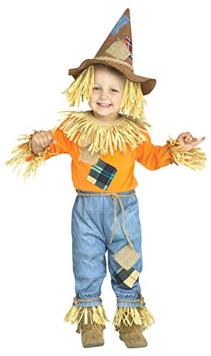 Toddler Li'l Scarecrow Wizard of Oz Costume size Large 3T-4T -