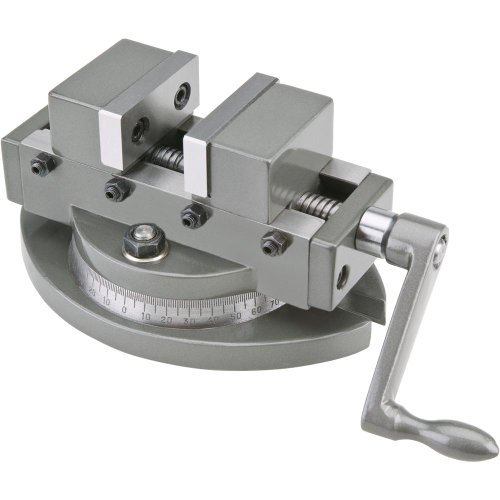 Grizzly T10253 2-Inch Mini Self Centering Vise with Swive Length Base (Centering Vise compare prices)