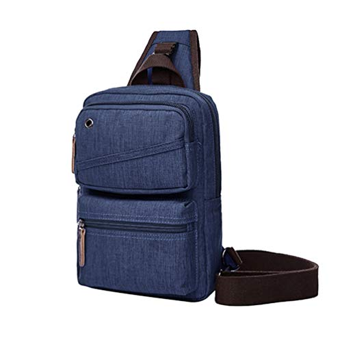 Rope Or Daypacks Sling Crossbody Blue Backpacks Bags Rucksack Dark Hiking Shoulder Mens For Pack Triangle Chenyang Multipurpose 6Y7nW1R5n