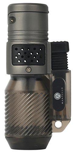 Mantello Cyclone Triple Jet Flame Butane Cigarette Torch Lighter