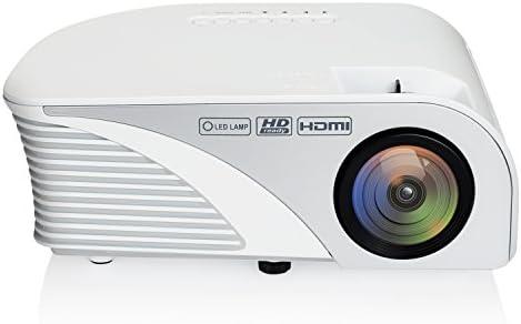 NEXGADGET Proyector LED 1080p Portátil Mini Videoproyector (805B ...