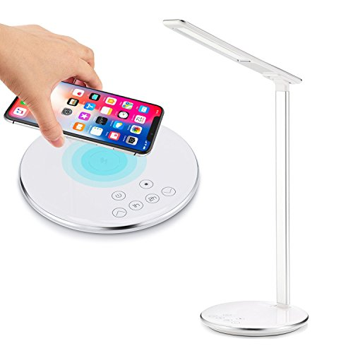 Wireless Charging LED Desk Lamp for iPhone X/8/8 Plus and Sa
