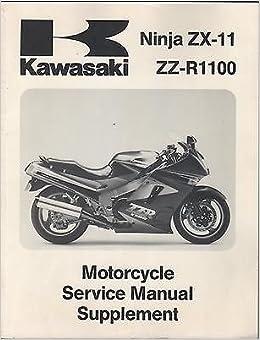 1990-93 KAWASAKI MOTORCYCLE NINJA ZX-11 SERVICE MANUAL ...