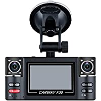SKydot F30 Car DVR 2.7 TFT LCD HD 1080P Dash Cam Dual Camera Rotated lens Vehicle Driving Digital Video Recorder Night Vision Portable Camcorder
