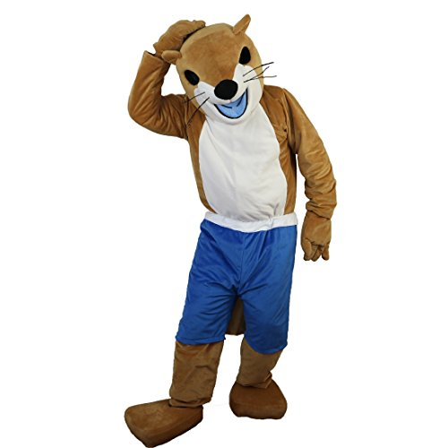 Langteng Athletic Weasel Cartoon Mascot Costume Real Picture 15-20days delivery Brand -