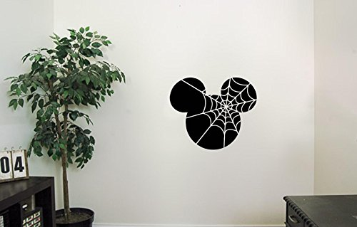 HomeDecorStore Mickey Mouse Vinyl Wall Decals Web Death Halloween Horror Decal Sticker Vinyl Murals Decors IL0037