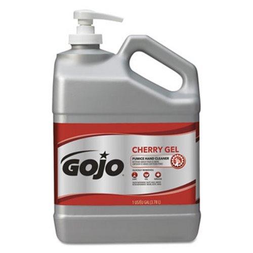 GOJO Cherry Gel Pumice Hand Cleaner, Cherry Scent, 1 Gallon Pump - two 1 gallon pump bottles per case.