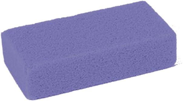 EUROXANTY® Piedra pómez sintética | Limpieza de pies | Piedra para remover la piel | Limpia y exfolia | Piedra para cuidado de pies | Piedra pómez para durezas | Piedra de 10 cm | Color MORADO