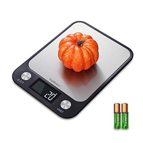 Top Vigor Digital Kitchen Food Scale Weight Grams Oz, Diet Food Scale...