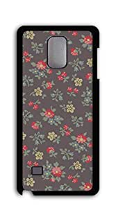 TUTU158600 Good Vibes Unique Fashion Printing Phone case for samsung galaxy note4 for girls - watercolor floral