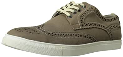 Kenneth Cole REACTION Men's Stand Up Guy 8E Fashion Sneaker,Brown,7.5 M US